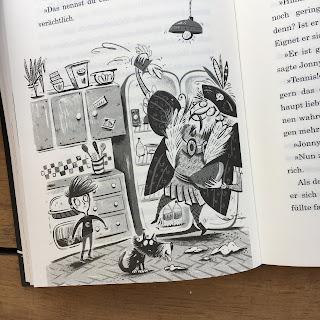 """""""Hilfe, ich habe meinen Bruder im Internet getauscht"""" von Jo Simmons, illustriert von Nathan Reed, erschienen im Verlag Egmont Schneiderbuch"""