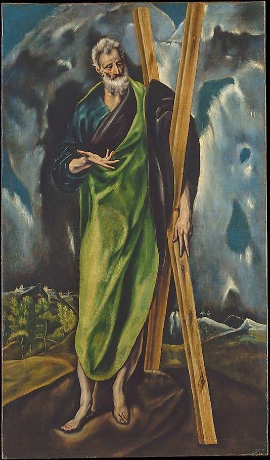 Saint Andrew by El Greco