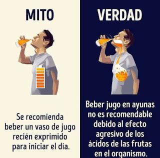 Mitos y verdades sobre las bebidas