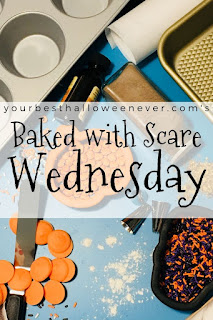 Your Best Halloween Ever, Baked with Scare Wednesday, Halloween baking recipes