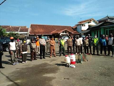 Kecamatan Sukabumi Insentifkan Membagikan 1500 Masker  Pencegeahan Pandemi Civid-19