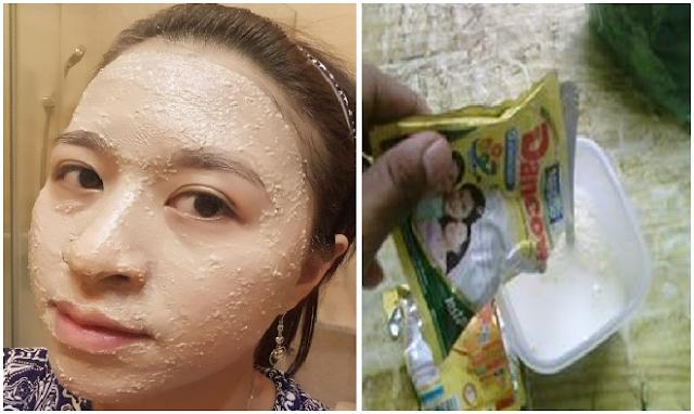 Wajah Berminyak, Jerawat, Flek Hitam dan Mata Panda Hilang Seketika Dengan Masker Susu Dancow