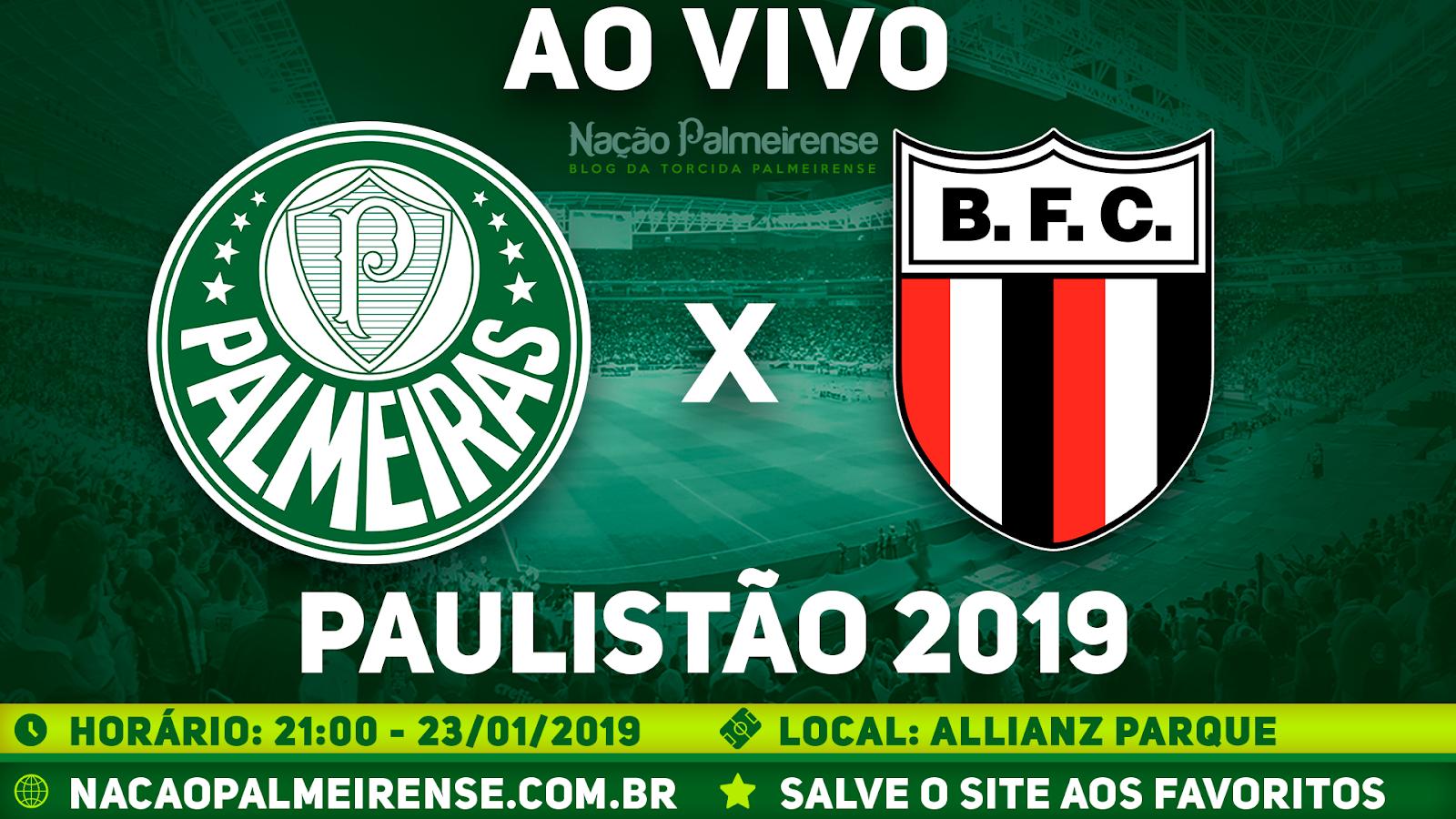 Assistir Palmeiras x Botafogo SP Ao Vivo