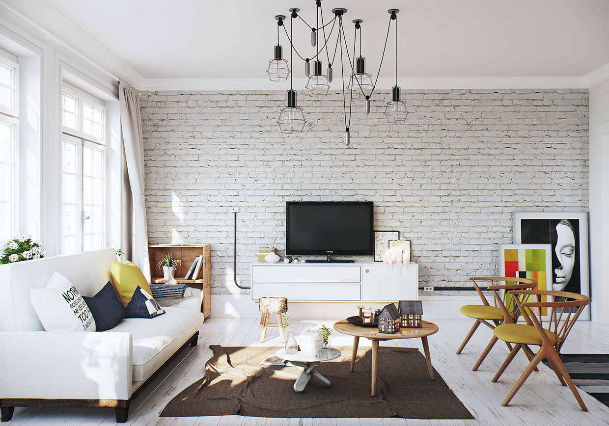 13 White Brick Walls And Decorative Wall Panels For Room Decoration