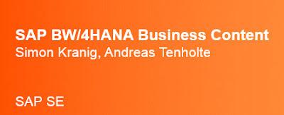 SAP BW/4HANA, SAP HANA Prep, SAP HANA Learning, SAP HANA Business
