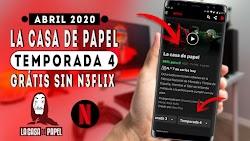 LA CASA DE PAPEL TEMPORADA 4 HD GRATIS SIN NETFLIX / NUEVA ALTERNATIVA