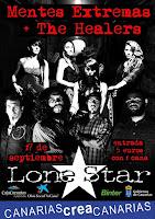 Concierto de Mentes Extremas y The Healers en Lone Star