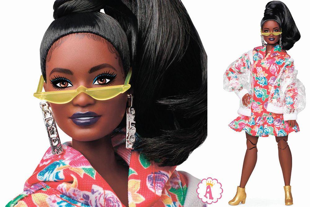 Барби ффро-американка Pazette с полным шарнирным телом BMR1959