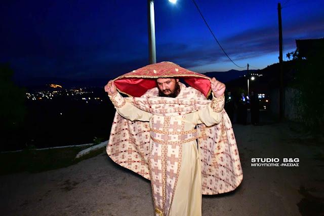 Και όμως έγινε περιφορά του Επιταφίου σε χωριό της Αργολίδας (βίντεο)