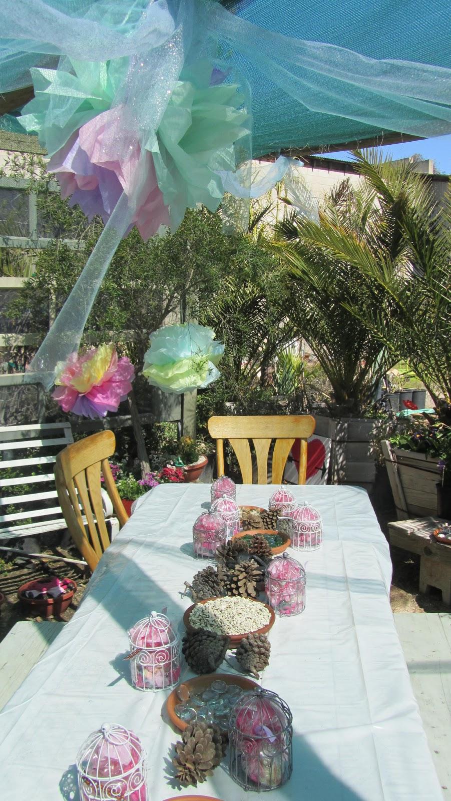Valley Center Nursery Enchanted Fairy Garden Birthday Party