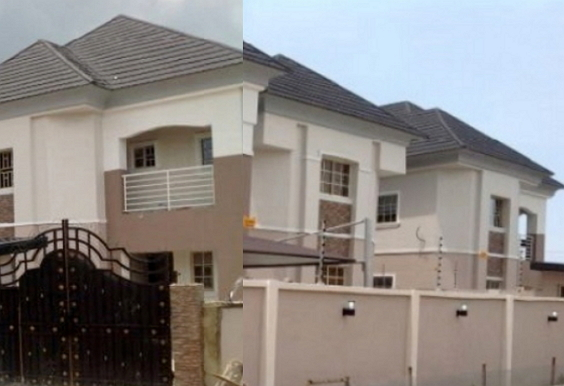 chika ike moves into new mansion house in lekki lagos