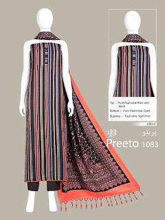 Bipson Preeto 1083 Pashmina Winter Collection