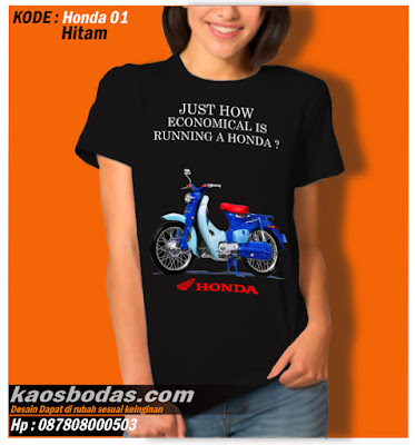 Kaos Honda 01