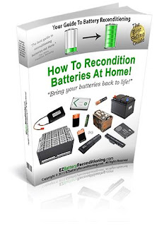 how to recondition lead acid battery
