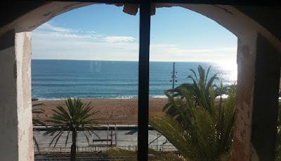Vistas al mar desde la sede del Coro de Marina