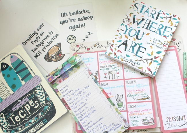 Top 5 stationery picks of 2016 - Nourish ME www.nourishmeblog.co.uk