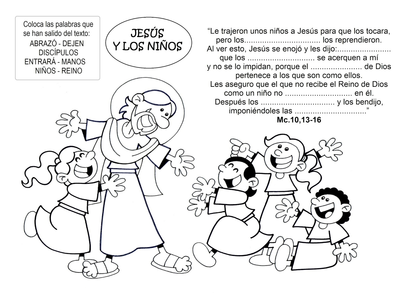 Dibujo De La Palabra Otoño Para Colorear Con Los Niños: La Catequesis (El Blog De Sandra): Dibujos Para Colorear