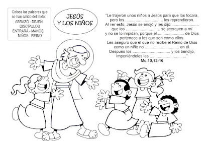 Dibujos Para Colorear Catequesis Infantil