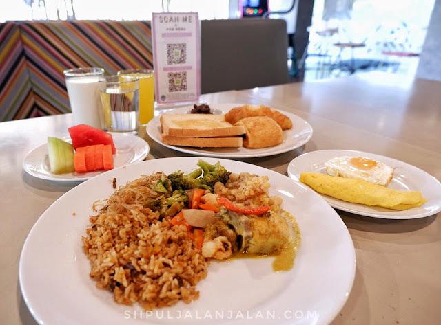 Menu Breakfast di Ibis Styles Jakarta Sunter