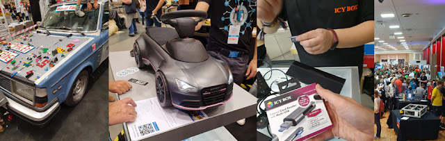 Messehalle Maker Faire Hannover 2019