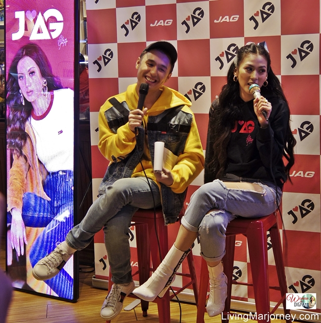 JAG Jeans Launched the AG (Alex Gonzaga) Collection