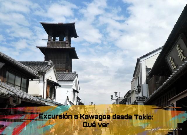 excursión a Kawagoe desde Tokio en un día
