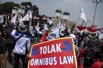 Demo UU Cipta Kerja, Banyak Pendemo Positif Covid-19 Usai Jalani Tes