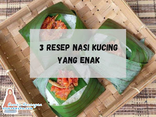 Resep nasi kucing yang enak