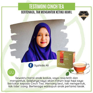 Testimoni Cinch® Tea Mix shaklee untuk ibu menyusu dan mengandung
