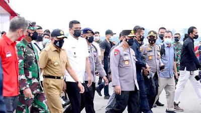 Gubernur Sumut Apresiasi Vaksinasi Drive Thru di Lanud Soewondo Medan