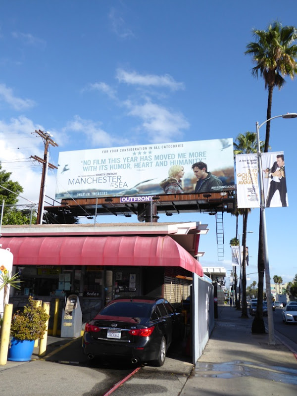 Manchester By the Sea movie billboard