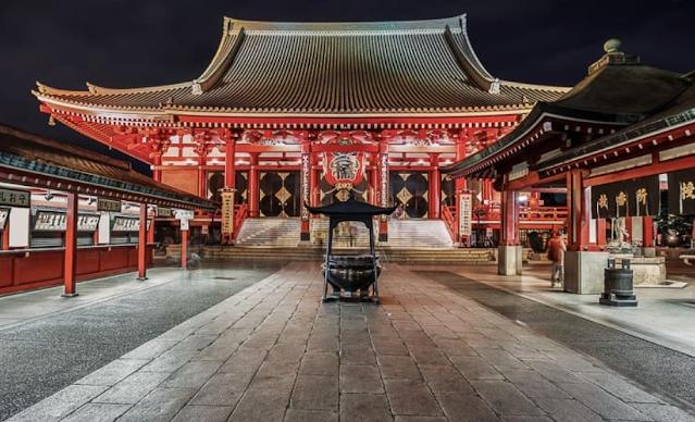 Sensoji Temple, Jepang