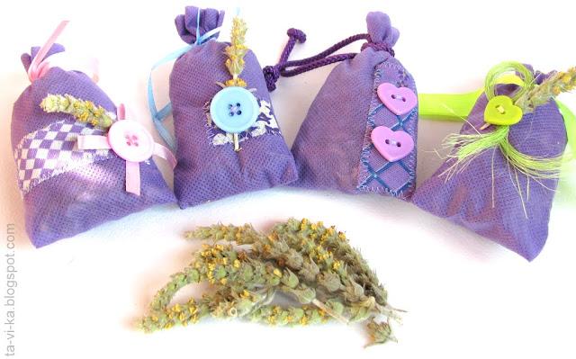 ароматические саше из трав sachet