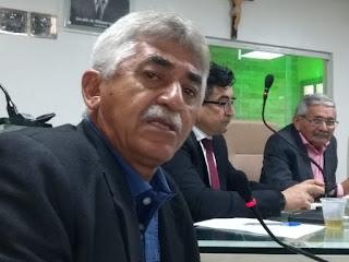 Câmara  Municipal de Guarabira aprovou voto de aplauso para Raimundo Macedo de autoria do vereador Zé Ismai