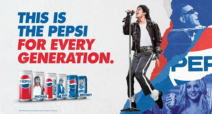 Компания Пепси реклама