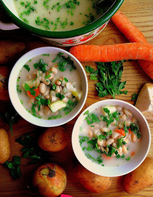 Szybka zupa fasolowa / Quick White Bean Soup