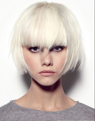 Straight 120% Short Capless Synthetic Hair