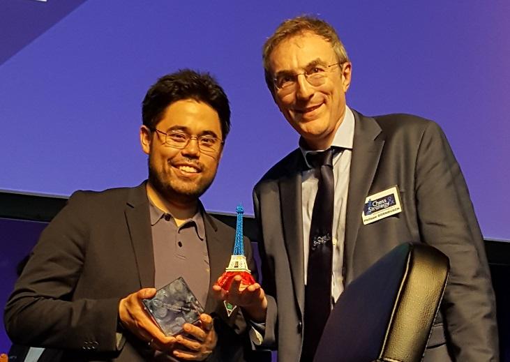 L'Américain Nakamura gagne le Grand Chess Tour de Paris, devant le Norvégien Carlsen et le Français Vachier-Lagrave - Photo © Chess & Strategy