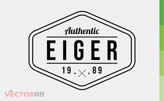 Eiger 1989 Logo - Download Vector File CDR (CorelDraw)