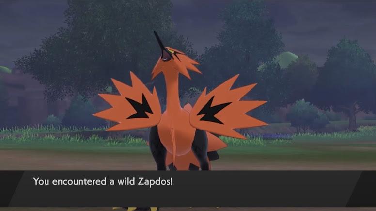 Galarian Zapdos