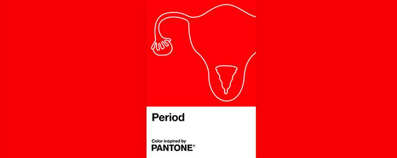 Pantone e Intimina lanzan el color de la menstruación