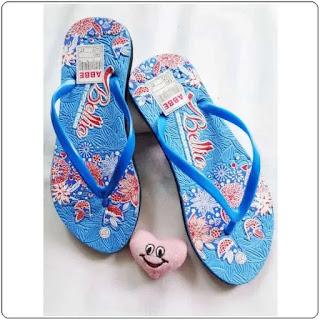 Sandal Jepit AB Bunga Simplek