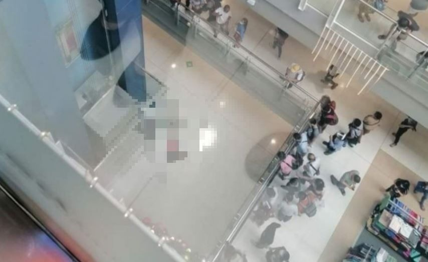 Woman jumps from 4th floor in SM Megamall