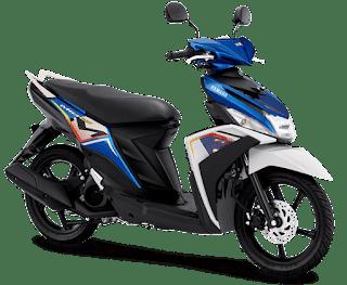 4 Warna Baru Mio M3 2022 dari Yamaha