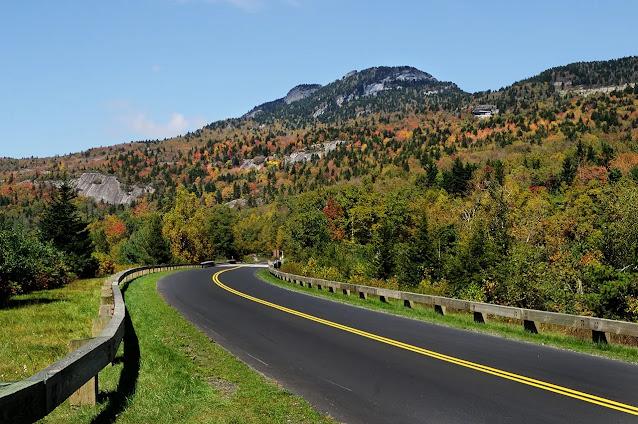 2- Blue Ridge Parkway, North Carolina