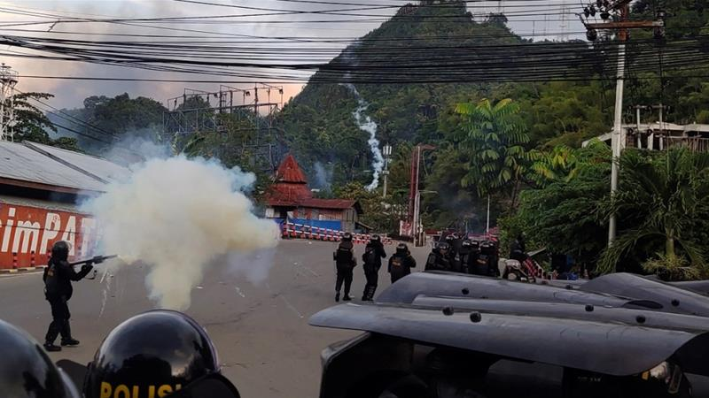 At least 20 dead in protests in Indonesia's West Papua