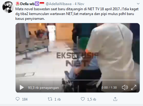Pegawai KPK Siap Laporkan Akun Medsos Tuduh Novel Baswedan Rekayasa Kasus