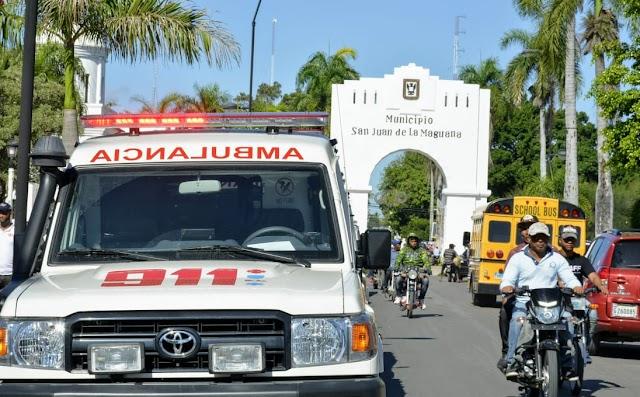 El 911 llega desde hoy a San Juan de la Maguana, Bohechío y otros municipios