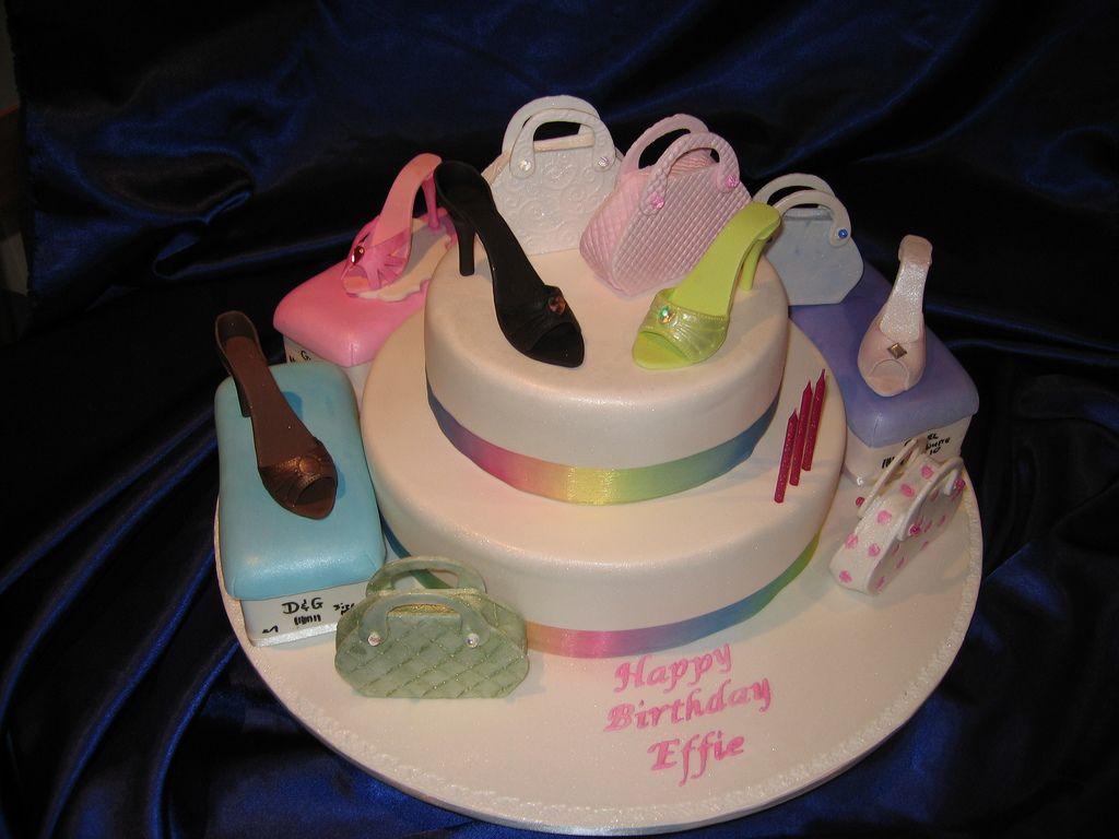 Heels Cake Designs