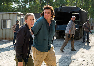 Laura (Lindsley Register) ed Eugene Porter (Josh McDermitt) nell'episodio 11